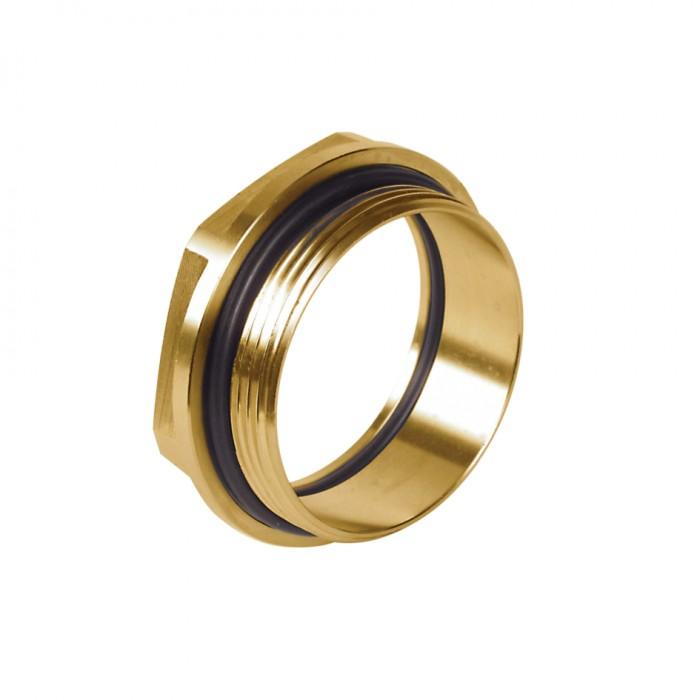 Oyster Converter - Yellow Brass