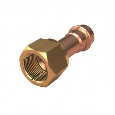 SAE Copper Flare - Brass Nut