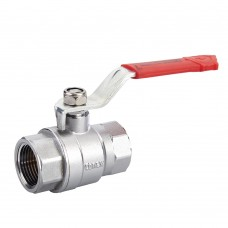 Quarter Turn Ball Valve FXF Red Lever (PN40)
