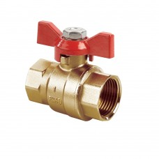 Quarter Turn Ball Valves FXF Red Tee (PN40)