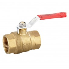 Quarter Turn Ball Valves FXF Red Lever (PN40)