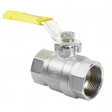 Quarter Turn Ball Valve - Gas F x F Lever (PN40)