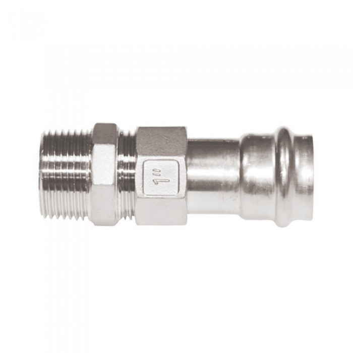 Male Straight Union Connector